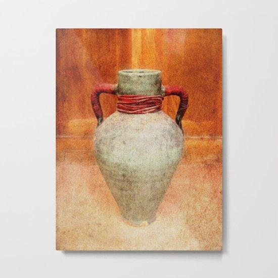 Mediterranean pitcher Metal Print