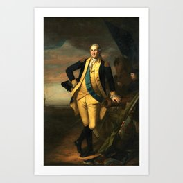 Charles Willson Peale George Washington Art Print