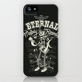 Eternal melody records iPhone Case