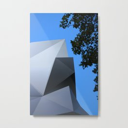 Abstract Sky In Melbourne Streets Metal Print