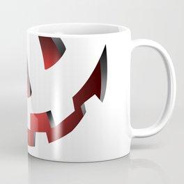 Pumpkin Head Red Coffee Mug