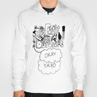 fault in our stars Hoodies featuring The fault in our stars by Madwolf