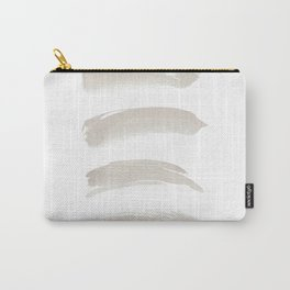 White Brushes Carry-All Pouch