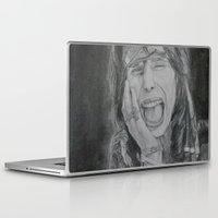 tyler spangler Laptop & iPad Skins featuring Steven Tyler by Jenn