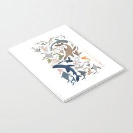 "FINconceivable Still ""Sharks"" Notebook"