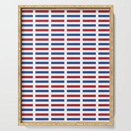 Flag of Netherlands -pays bas, holland,Dutch,Nederland,Amsterdam, rembrandt,vermeer. Serving Tray