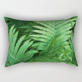 Fern Photography   Tropical Leaves   Nature   Jungle   Rainforest   Tropical   Minimalism Rectangular Pillow