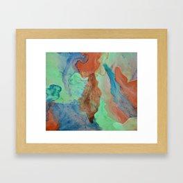 Inks through Framed Art Print