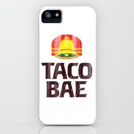 Taco Bae Vintage Print iPhone Case