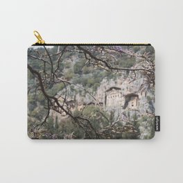 Wisteria Buds Surrounding the Lycian Tombs Dalyan Carry-All Pouch