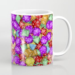 RPG Gamer Dice Coffee Mug