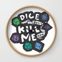 Dice Don't Kill Me Now - Ocean by kayesdoodles