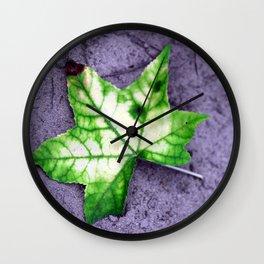Fallen Star Wall Clock