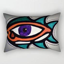 Eye of the Beholder Rectangular Pillow