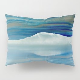 Ice in the Morning on Lake George Pillow Sham
