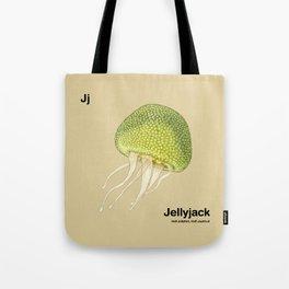 Jj - Jellyjack // Half Jellyfish, Half Jackfruit Tote Bag