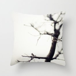 Small Tree Throw Pillow