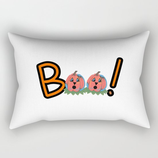 Boo Rectangular Pillow