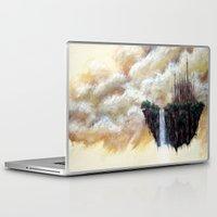 scott pilgrim Laptop & iPad Skins featuring ISLAND PILGRIM by STELZ (Vlad Shtelts)