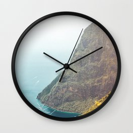 Petit Piton Wall Clock