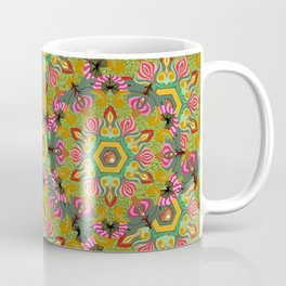 Swirls of Flowers and Lace Coffee Mug