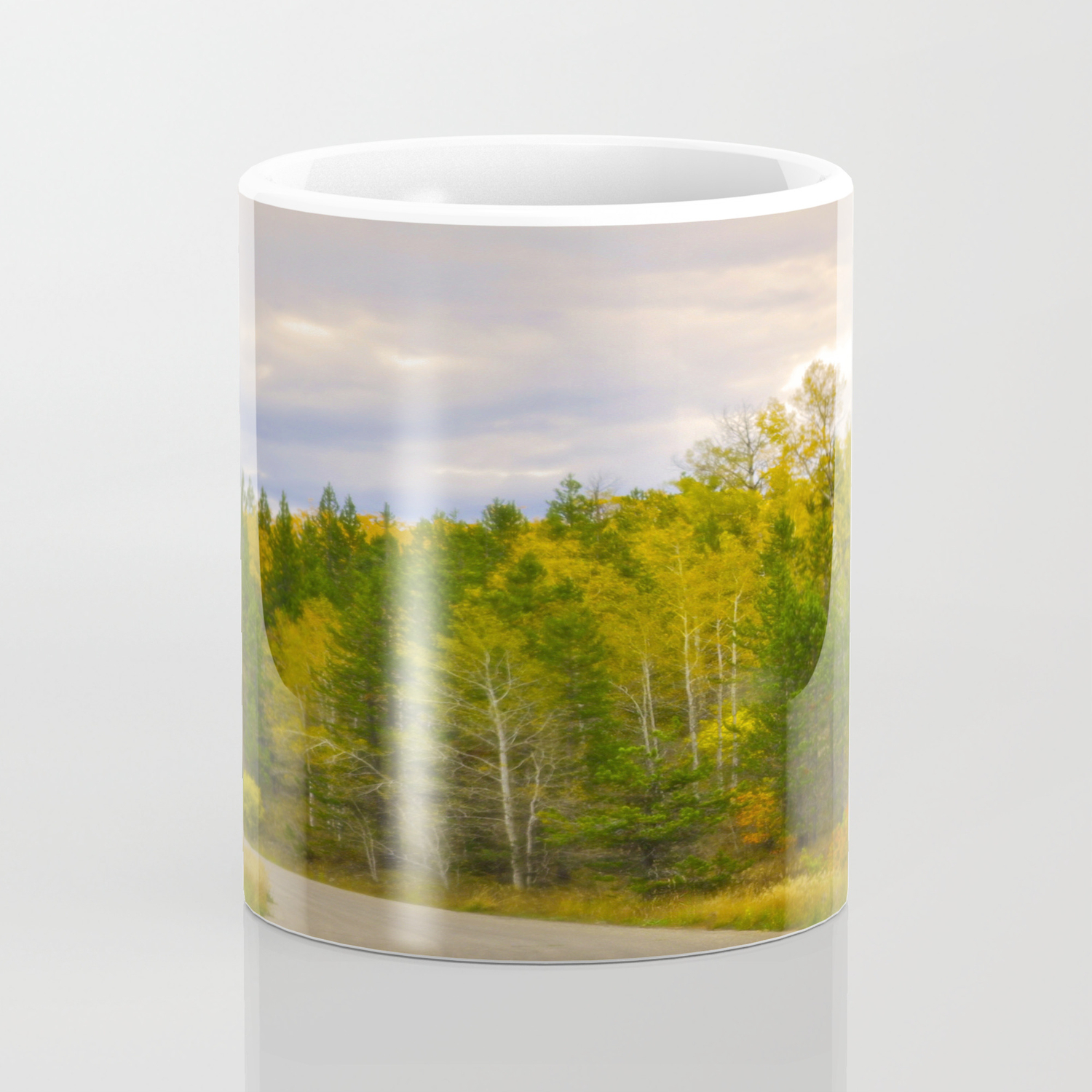 Ashton Idaho The Road Less Traveled Coffee Mug By Imagetakers Society6