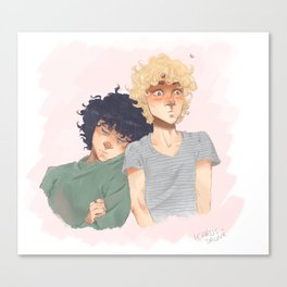 Sudden Realisation of Affection Canvas Print