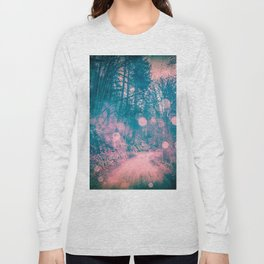 Pink Magical Path Long Sleeve T-shirt