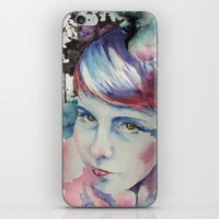 emily rickard iPhone & iPod Skins featuring Emily by Tony Unser
