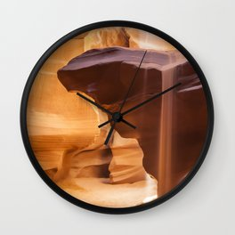 ANTELOPE CANYON Pouring Sand Wall Clock