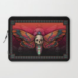 """""""Death colored moth"""" Laptop Sleeve"""