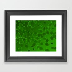 Fantasy Pebbles Framed Art Print