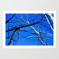 Blue Sky  Art Print