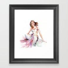 fashion Framed Art Print