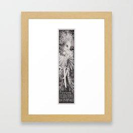 Sparafucile mi nomino Framed Art Print