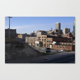 always better from afar Canvas Print