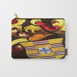 Knightarms in stained glass Carry-All Pouch