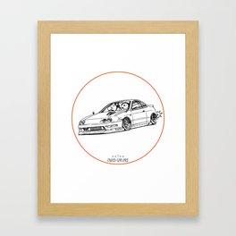 Crazy Car Art 0193 Framed Art Print