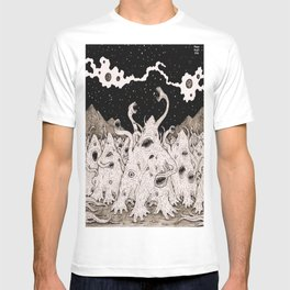 Cosmic horror party T-shirt