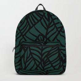 Midnight Citrus Pattern No 03 Backpack