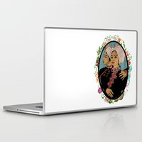 twins Laptop & iPad Skins featuring Twins by Nina Twin