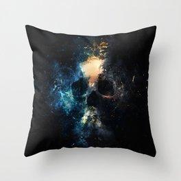 Depth Skull Throw Pillow