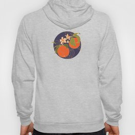 Orange Branch Hoody