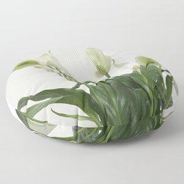 Spathiphyllum Floor Pillow