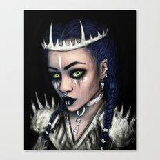 Vampire's Gaze Canvas Print