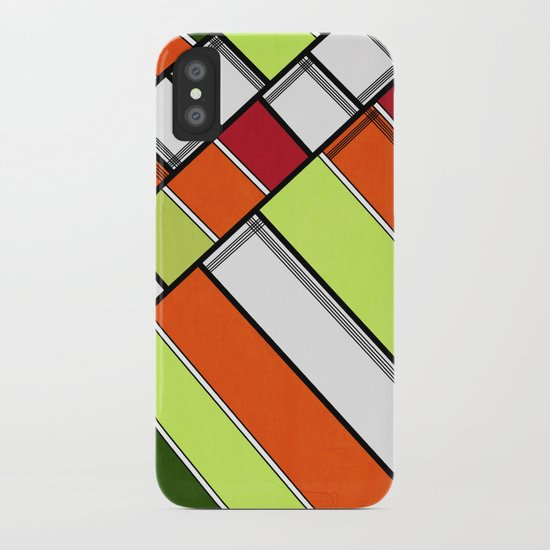 Lined II iPhone Case