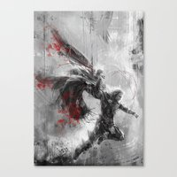thor Canvas Prints featuring Thor by Wisesnail