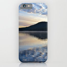 Rippling Reflections: September Sunrise on Lake George iPhone Case