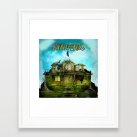 pierce the veil Framed Art Prints featuring Pierce The veil VicFuentes MikeFuentes JaimePreciado TonyPerry decoration by customgift