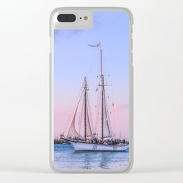 Sailing Yacht Clear iPhone Case